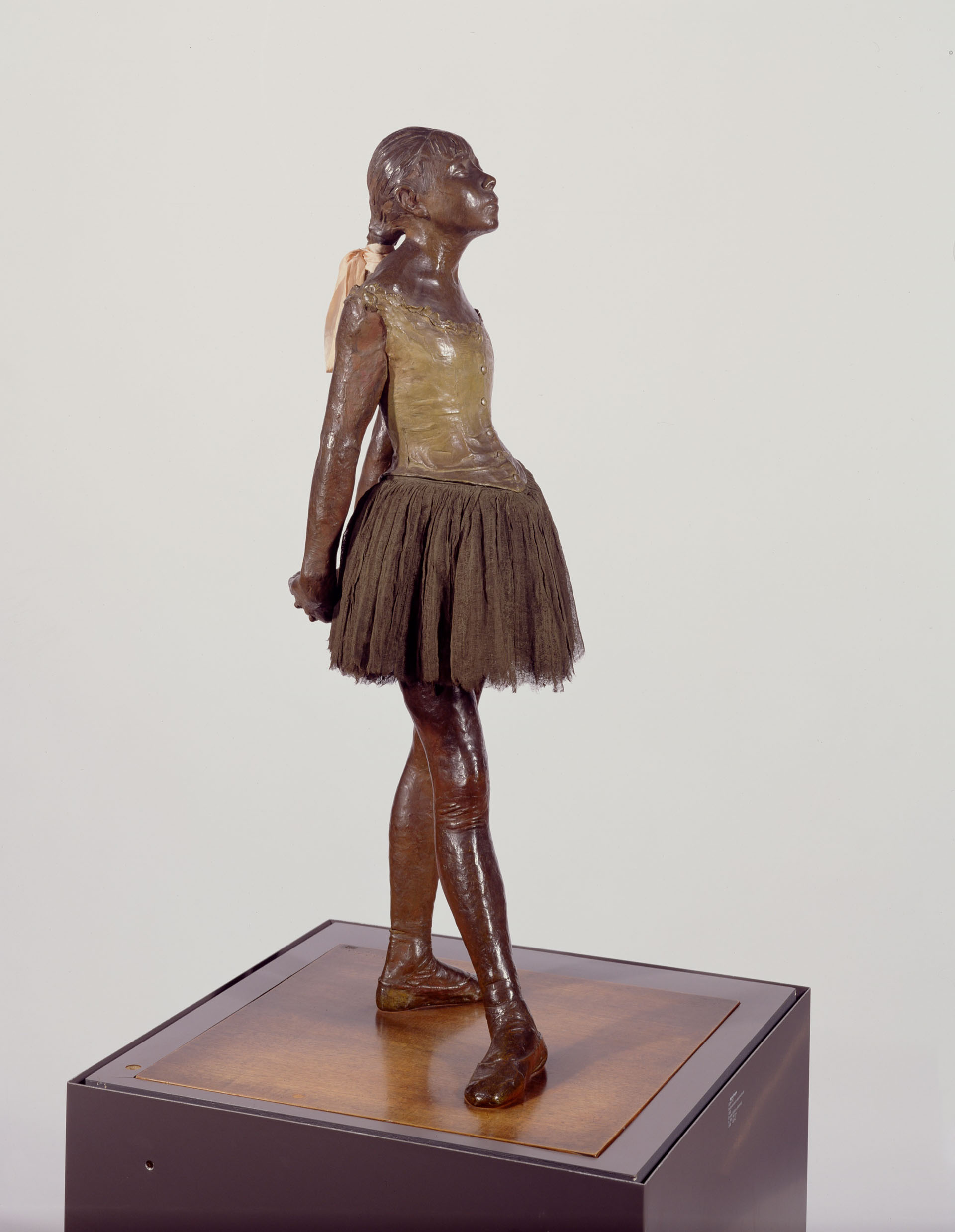 Little dancer aged fourteen, 1880-81, Edgar Degas (1834-1917). Bronze, edition unknown, Robert and Lisa Sainsbury Collection. UEA 2.