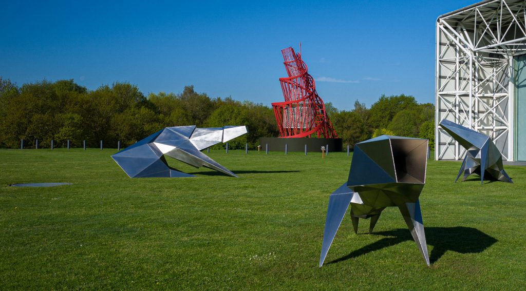 Sculpture Park at the Sainsbury Centre © Andy Crouch