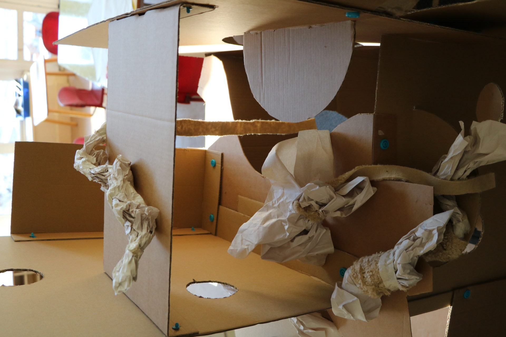 cardboard, shadow, paper forms