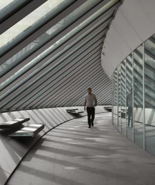 Sainsbury Centre corridor