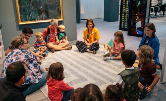 At the Sainsbury Centre: Story Pot with artist Anna Brass