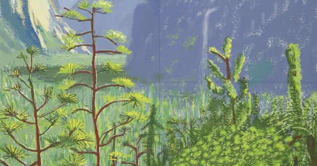 Monet/Hockney Modern Landscapes