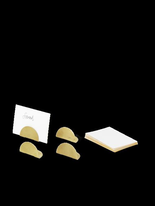 Brass Card Holders