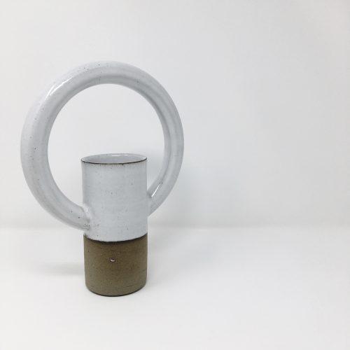 Lily Pearmain Doughnut Vase