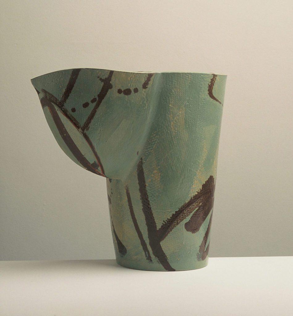 A pot by ceramic artist Alison Britton
