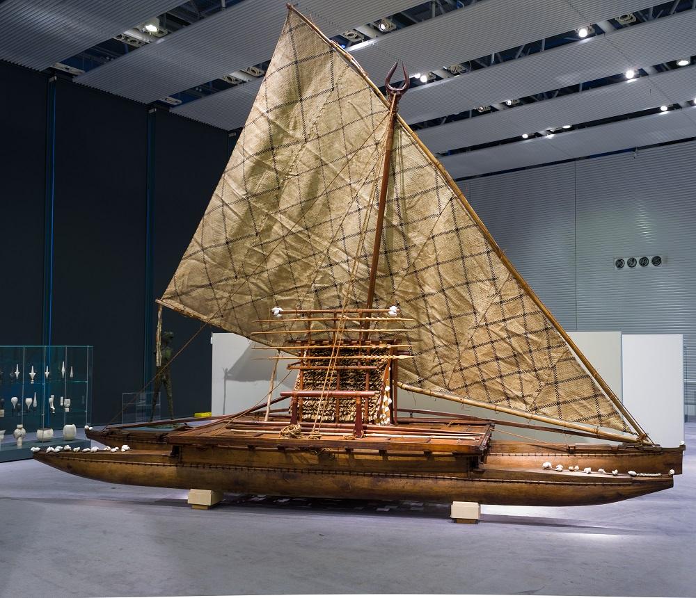 Fiji Exhibition Canoe