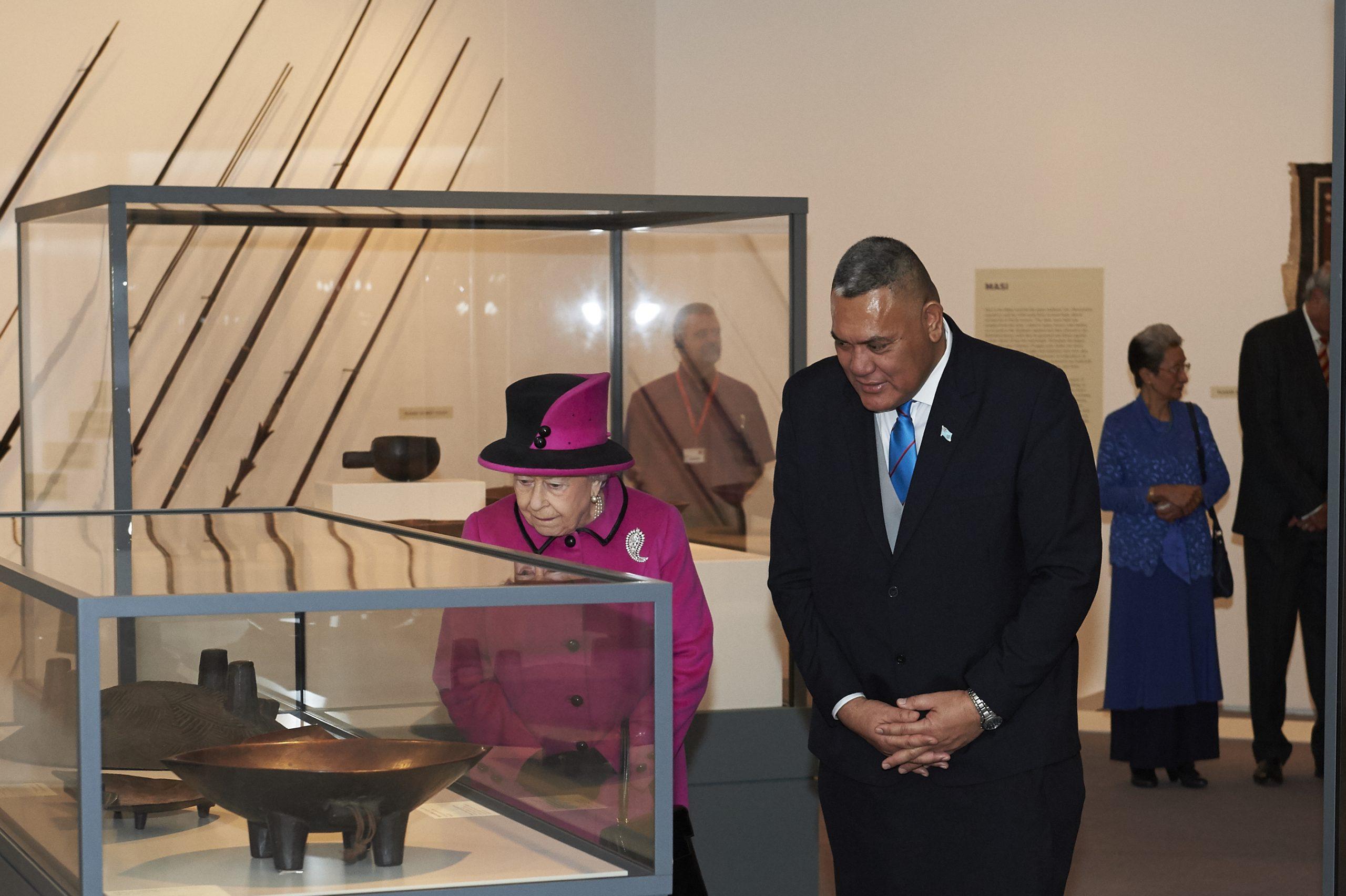 Fiji Exhibition Royal Visit