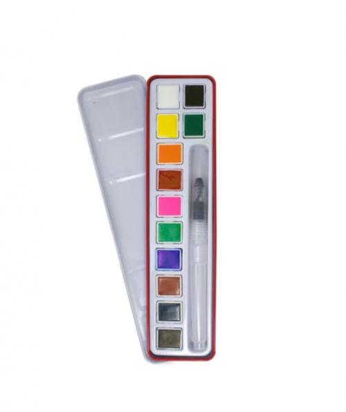 Watercolour & Water Brush Paint Set