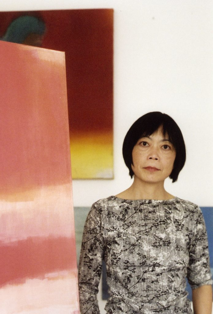Photograph of the artist Leiko Ikemura
