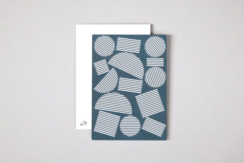 Pack of 8 Blocks print Postcards